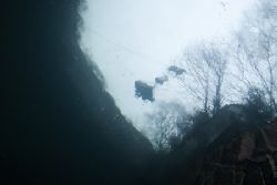 Cart. Vivian quarry. North Wales.